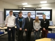 Jonathan Djanogly meets with engineering graduates and apprentices at ABB in St Neots