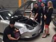 Celebrating Huntingdonshire Regional College's 1,000th apprentice with Adam's Autos
