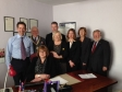 Jonathan Djanogly visiting Federation of Small Businesses member Adlams Solicitors in St Neots