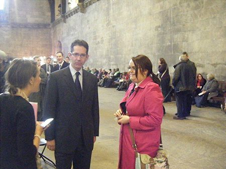 Jonathan Djanogly meets Amy Batchelor who visits him in Parliament on behalf of Rethink Mental Illness