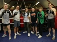 Jonathan Djanogly joins an MPs 'boxing taster session' organised by the All Party Parliamentary Group on Boxing