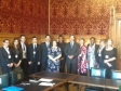 Jonathan Djanogly, Jessica Lee MP, Attorney General Dominic Grieve MP with BPP Law School students
