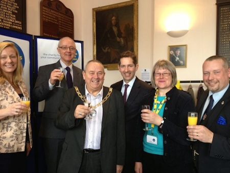 Jonathan Djanogly MP attends opening of new CAB service for Huntingdon, St Neots and St Ives