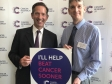 Jonathan attended a recent Parliamentary event in aid of Cancer Research UK