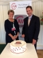 Jonathan Djanogly with Principal Barbara Cooper hosting a Reception at the House of Commons to mark 25 years since the founding