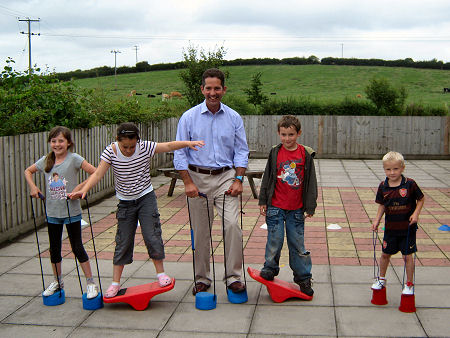 Childrens Activity Roadshow at Alconbury
