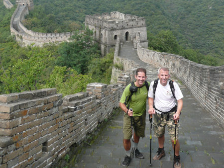 Jonathan Djanogly spent a week walking the Great Wall of China in order to raise money for charity
