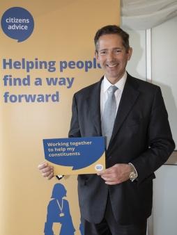 Jonathan Djanogly MP meets Citizens Advice