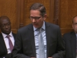 Jonathan Djanolgy MP speaking in the House of Commons, April 2019, Brexit