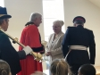 Jonathan Djanogly MP attends the official opening of the new Coneygear Community Centre in Huntingdon