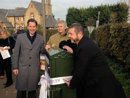 Christmas comes early for Cambridgeshire communities as superfast broadband arrives