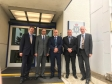 Jonathan with Shailesh Vara MP and Daniel Zeichner MP meeting the Chief Constable and the Police & Crime Commissioner