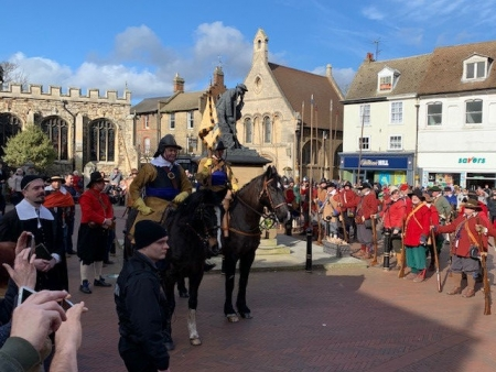Reopening of the refurbished Cromwell Museum in Huntingdon
