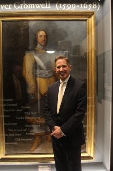Reopening of the refurbished Cromwell Museum in Huntingdon, photo: Christopher Buckenham