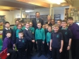 Jonathan visiting Crosshall Junior School to deliver a 'FUTURE ME' talk