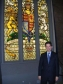 Jonathan Djanogly at the unveiling of the Diamond Jubilee commemorative stained glass window in Westminster Hall
