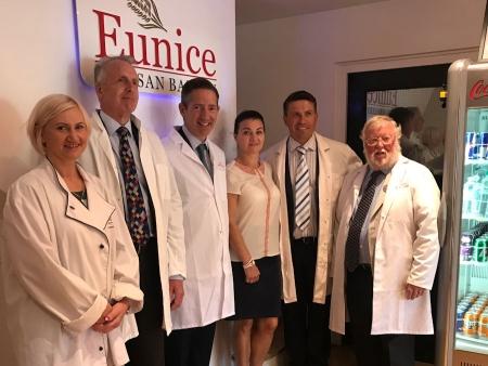 Jonathan Djanogly visits Eunice Polish bakery