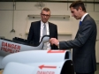 Jonathan is pictured with the Managing Director of Forward Composites, Paul Jackson, during a recent visit.