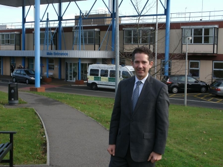 Jonathan Djanogly MP congratulates Hinchingbrooke and Circle