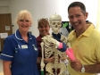 Jonathan joining celebrations of our NHS' 70th birthday at Hinchingbrooke Hospital's open day.