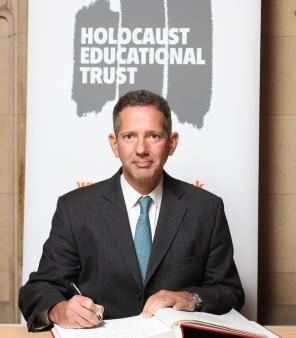 Jonathan Djanogly MP signs Holocaust Educational Trust Book of Commitment