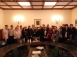 Jonathan Djanogly with students from Huntingdonshire Regional College on their visit to Parliament