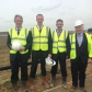 Groundbreaking ceremony for the new iMET skills campus at Alconbury Weald with Nick Boles MP, Minister of State for Skills