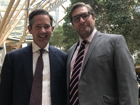 Jonathan Djanogly MP meets Cambridgeshire Mayor James Palmer