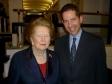 Jonathan Djanogly with Baroness Thatcher