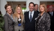 Jonathan Djanogly officially opening local business Le Mark's new expanded offices and warehousing