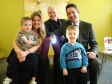 Jonathan Djanogly visits new St Neots business, Life Light Rescue Ltd with Director Derek Wilson and his family