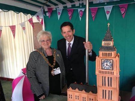 Jonathan Djanogly at the launch of the 'Love Your Local Market' campaign in the House of Commons.