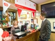 Official opening of relocated Little Paxton Post Office at The Anchor Pub