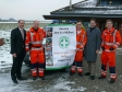 Jonathan and Shailesh Vara MP visit Magpas