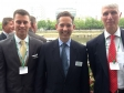 Jonathan Djanogly with representatives of both MAGPAS and the East of England Air Ambulance attending a Parliamentary event.