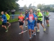 Jonathan completing the Amsterdam marathon