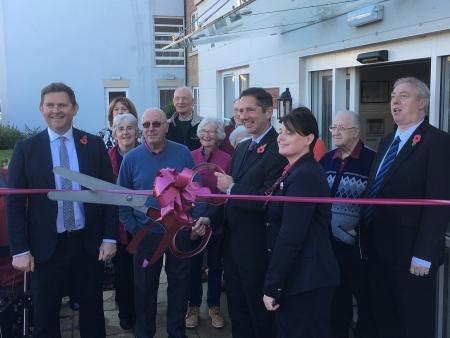 Jonathan Djanogly opens the new Churchill Retirement Moorhouse Lodge development in Huntingdon.