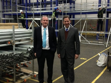 Jonathan meets with Nigel Donohue, CEO of West Anglia Training Association