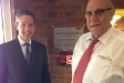 Jonathan Djanogly officially opening Oraldent's new offices in Kimbolton.