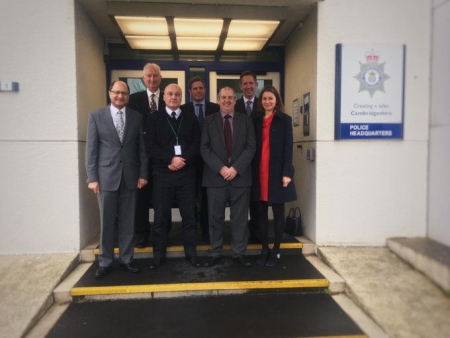 Local MPs meet Acting PCC and Chief Constable to discuss policing priorities