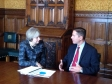 Jonathan meeting with the Prime Minister to discuss corporate governance proposals.