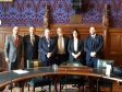 Jonathan Djanogly MP attends a meeting with the PCC in the House of Lords