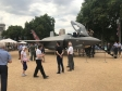 Jonathan attending the RAF's 100th birthday celebrations at Horse Guards Parade