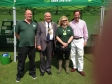 Jonathan visiting the Huntingdon Riverside Gala on Saturday 7th June and meeting representatives of Wood Green Animal Shelter
