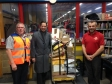Jonathan Djanogly visits Royal Mail delivery office in Huntingdon