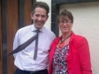 Jonathan Djanogly meets with Cambridge Weight Plan Consultant Yasmin May to discuss the benefits for overweight and obese people