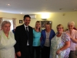 Jonathan Djanogly visiting the St Ives Day Care Centre and serving lunch to the members