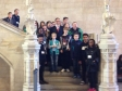 Jonathan welcoming a group of visitors to Parliament from Huntingdonshire St John Ambulance.