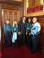 Jonathan Djanogly with Scouts and Scout leader, Malcolm Wright from 1st St. Neots Scouts at Speaker's House