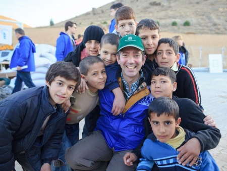 Volunteering in Syrian refugee camp in Turkey